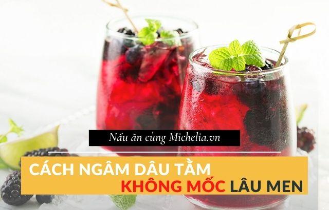 cách làm nước dâu tằm để uống
