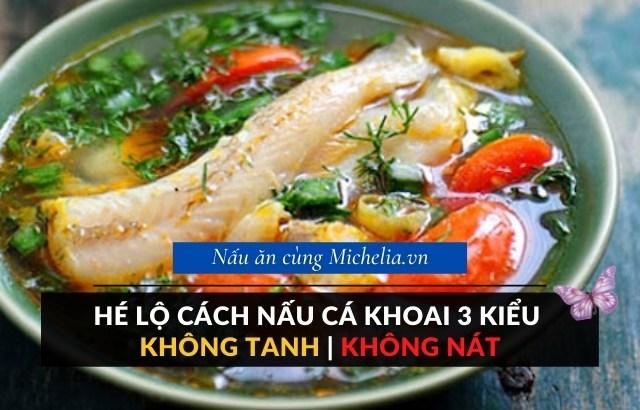Canh cá khoai nấu dứa