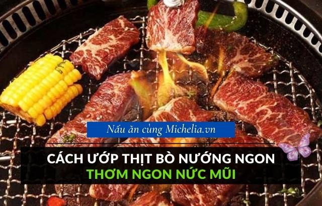 Bí quyết ướp thịt bò nướng