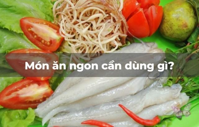 Nấu canh cá khoai thì là