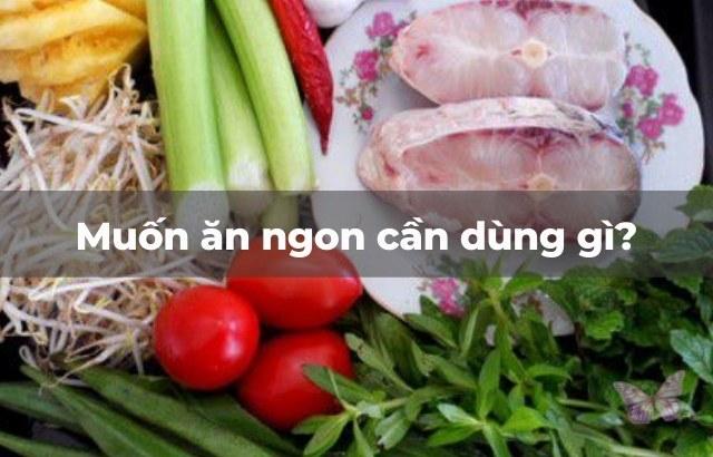 Cách nấu canh chua cá hú ngon