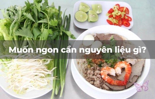 Hướng dẫn cách nấu hủ tiếu nam vang Campuchia
