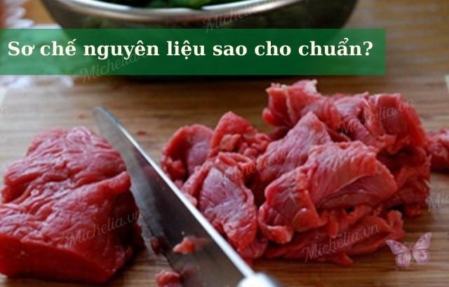 cách xào thịt bò mềm