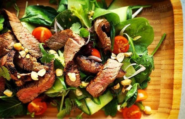 Thịt bò trộn rất tốt cho sức khỏe
