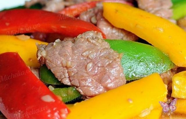 Cách xào thịt bò mềm ngon hấp dẫn