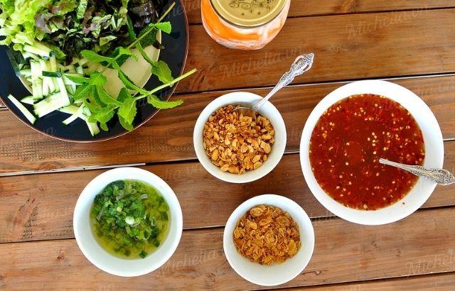 Pha nước chấm nầm bò nướng kiểu Hàn Quốc