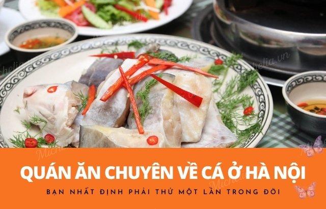 Quán cá nướng ngon ở Hà Nội