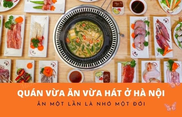 Nhà hàng có phòng karaoke riêng tại Hà Nội