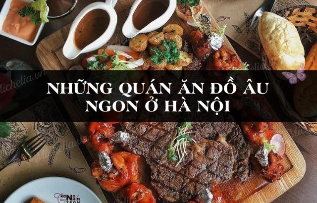 Nhà hàng Âu sang trọng tại Hà Nội
