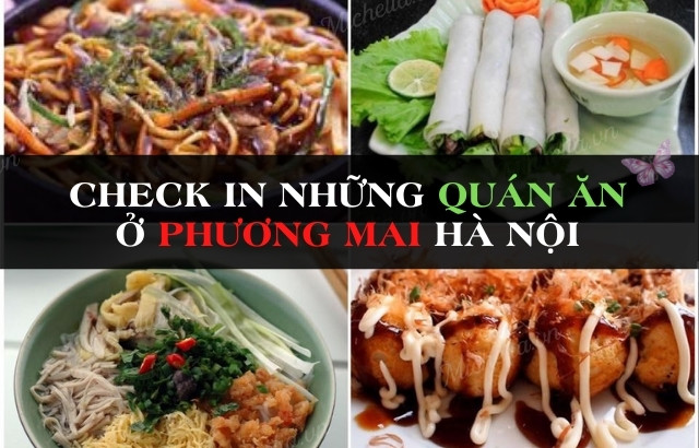 Các món ăn đang hot ở Hà Nội