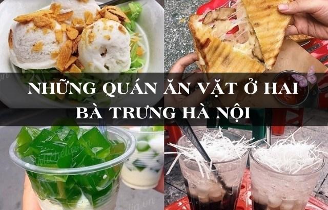 Địa điểm ăn uống ngon ở quận Hai Bà Trưng