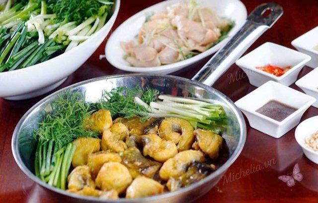 quán ăn chuyên về cá ở hà nội