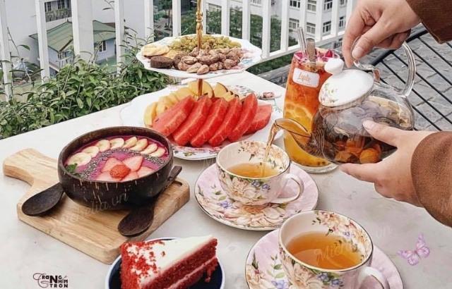 Cafe ăn sáng đẹp ở Hà Nội