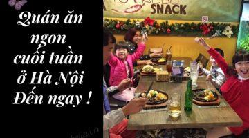 Những quán an ngon ở Hà Nội cho giới trẻ