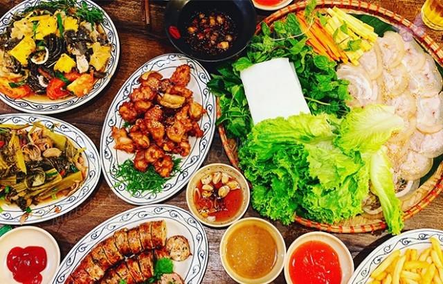 Quán ăn ở Phương Mai Hà Nội