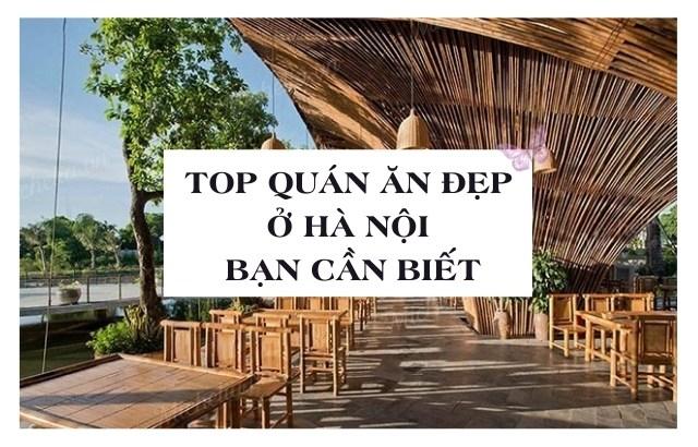 Quán an sang chảnh giá rẻ ở Hà Nội